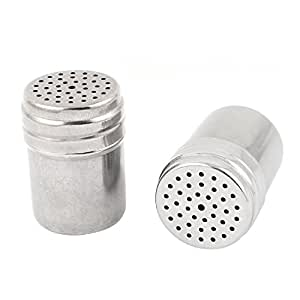 Uxcell stainless steel toothpick holder container dispenser 73 x 52mm 2pcs kitchen - Stainless steel toothpick dispenser ...