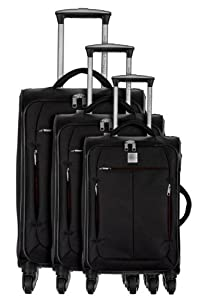 PASCAL MORABITO 3 valises trolley 4 roues STYX: Amazon.fr: Bagages