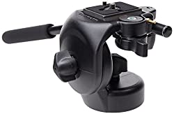 Manfrotto 128RC Micro Fluid Video Head with Quick Release Plate