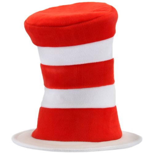 Cat In The Hat - Plush Hat Adult Accessory Size Standard