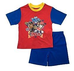 Boys Paw Patrol Pyjamas 2 Piece Character Pjs Short Pyjama Set Kids Size UK 1-4 Years by Paw Patrol
