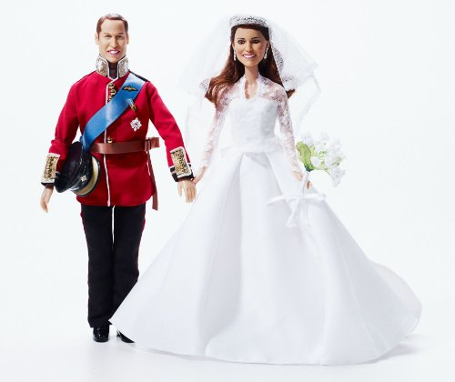 41aHauVFs0L Cheap Buy  Royal Wedding Dolls | Princess Catherine Wedding Doll and Prince William Doll | Limited Edition Kate Middleton Bride Collectors
