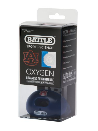 NCAA Auburn Tigers Oxygen Lip Protector Mouthguard at Amazon.com