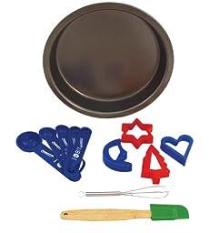 Entemann\'s ENT39010 8-Piece Kids Baking Set