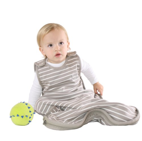 Imagen de Woolino 4 Temporada del sueño del bebé de tela, 100% Lana Merino Natural saco de dormir, un tamaño 3mo-2 años, Sage