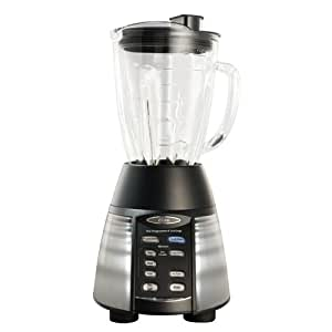 Oster BVLB07-Z Counterforms 3-Speed 2-in-1 Blender/Food-Processor Combo with 48-Ounce Glass Jar