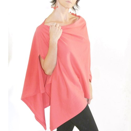 Bizzy Babee Nursing Cover (Coral)