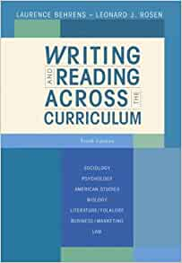 Writing and Reading Across the Curriculum, 13th Edition