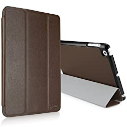 BoxWave Slimline iPad mini Smart Case (Ultra-Slim Folio Stand Case) - iPad mini Cases and Covers (Classic Brown)
