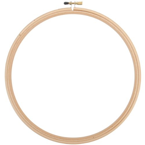 Edmunds Wood Embroidery Hoop with Round Edges, 10-Inch (10 Embroidery Hoop compare prices)