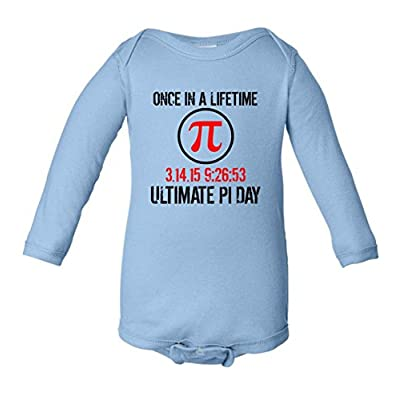 Once In A Lifetime Ultimate Pi Day 3.14.15 Infant Long Sleeve Bodysuit