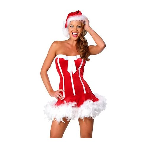 Sexy Costume: Santa's Cutie - Women's Sexy Christmas Costume Lingerie Outfit