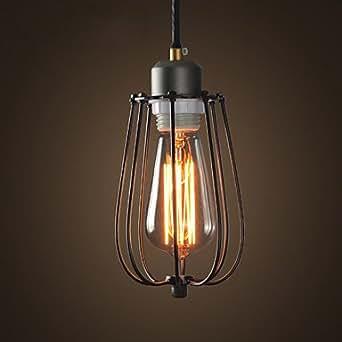 It lampadari rustico campestre di metallo stile mini for Amazon lampadari