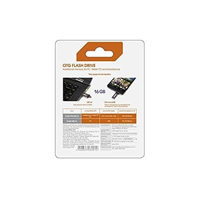 Interstep 16 GB Black USB 3.0 OTG Pen Drive (IS-FD-OTG16GMET-ENGB902)