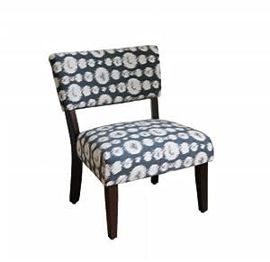 Large Ikat Gigi Fabric Slipper Chair Oversized Chairs
