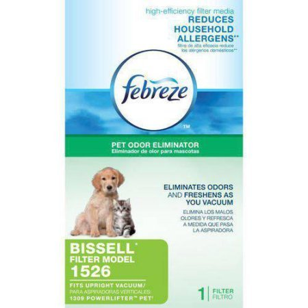 Reduces Household Allergens Febreze Powerlifter Pet Filter, Fits BISSELL model 1309 By Bissell (Febreze Bissell Filter compare prices)