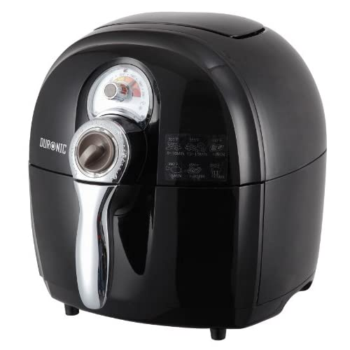 Duronic AF1  B Healthy Oil Free Jet Fryer Multicooker - Air Circulating Technology - Black - free recipe book
