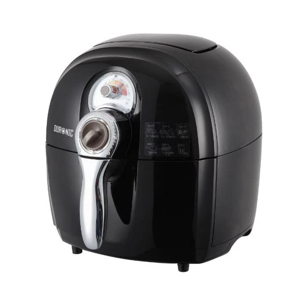 Duronic AF1 Healthy Oil Free Air Fryer Multicooker - Air Circulating Technology - free recipe book