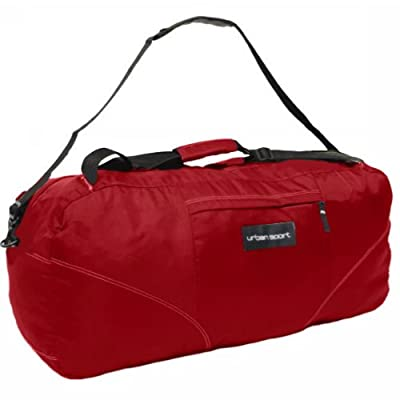Members Foldable 104 Litres Cargo Backpack Holdall (Red) from Karabar