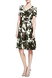 Floral Skater Dress [T50-6046-S]