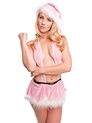 Under Cover Lingerie Mrs Clause (Pink, Free Size)
