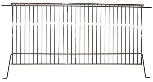 Music City Metals 02124 Chrome Steel Wire Warming Rack Replacement for Select Gas Grill Models by Charbroil, Kenmore and Others