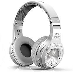 Bluedio HT(Shooting Brake) wireless auricolari cuffie bluetooth 4.1 stereo headphones (White)