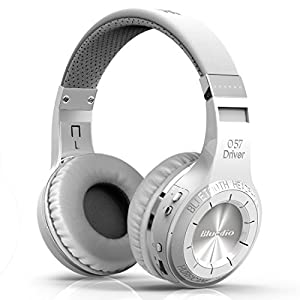 Bluedio HT(shooting Brake) Wireless Bluetooth 4.1 Stereo Headphones (White)