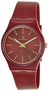 60% Discount on Maxima Analog Red Dial Men's Watch – E-28924PPGW