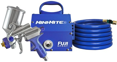 Fuji 2803-GXPC Mini-Mite 3 HVLP Spray System with Gravity Gun
