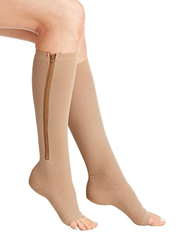 Wellington Orthopedic Women's Low Pressure Preventive 15-20 mmHg Medical Compression Stockings, Beige, Small, 6.15 Ounce (Orthopedics Llc compare prices)