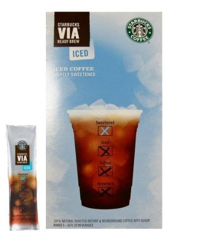 Starbucks VIA Iced Coffee, 6-Count Packages (Pack of 12) (Iced Via Coffee Starbucks compare prices)