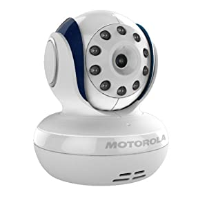 Motorola MBP33 Wireless Video Baby Monitor with Infrared Night Vision and Zoom 2.8
