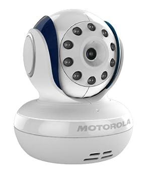 Monitor de bebé Motorola MBP33 inalámbrico de video con visión nocturna infraroja y acercamiento
