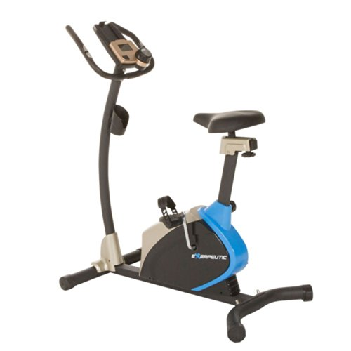 Exerpeutic Exerpeutic 2000 Magnetic Upright Bike with Super Oversized Seat & Heart Pulse