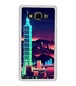 High Rise Buildings 2D Hard Polycarbonate Designer Back Case Cover for Samsung Galaxy A8 (2015 Old Model) :: Samsung Galaxy A8 Duos :: Samsung Galaxy A8 A800F A800Y