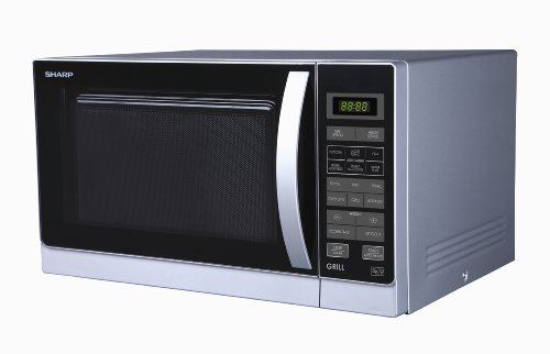 Sharp 25 Litre Microwave and Grill, Silver
