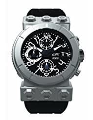 RSW Men's 4125.MS.R1.H12.00 Outland Automatic Round Black Dial Chronograph Watch