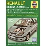 RENAULT MEGANE & SCENIC PHASE 2 MANUEL D'ENTRETIEN ET REPARATION
