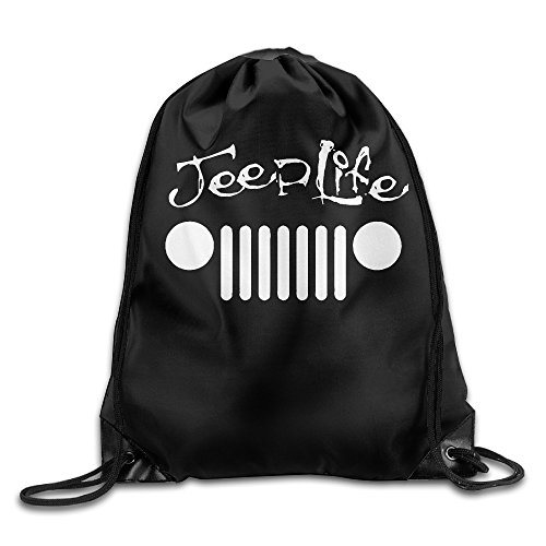 canace-jeep-wave-handprint-griglia-wrangler-club-sport-all-aria-aperta-sacchetti-coulisse-zaino-whit