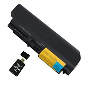 9cell Replacement IBM LENOVO Think Pad R61 T61 R61i R61e T400 R400 Series Laptop Battery 42T5225 42T5227 42T5262 42T5264 42T5229 41U3197 42t5263 42t5230 43R2499 42T4530 42T4531 series Laptop.