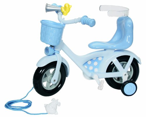 Zapf Creation Baby Born® Bike (Blue)