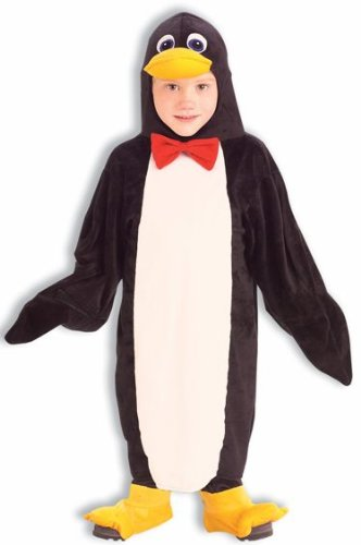 Plush Cuddlee Penguin Costume, Child Small