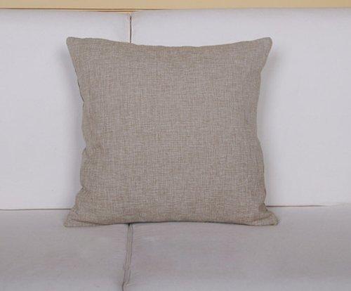 Love Home-LH016 Elegant Cotton Linen Decorative Throw Pillow Case/throw Pillow Cover/toss Pillow ...