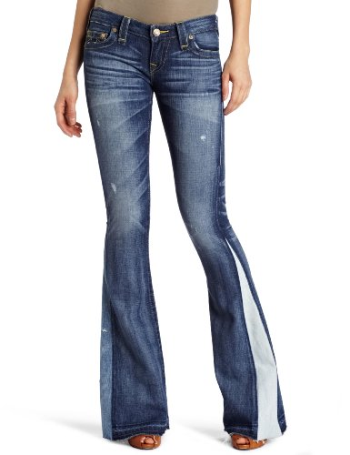 True Religion Women's Bobby Love and Haight Flare Jean