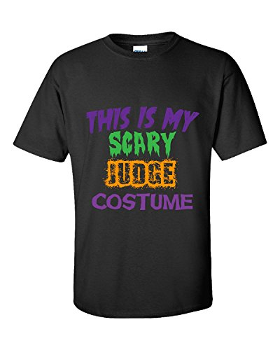 This Is My Scary Judge Halloween Costume - Unisex Tshirt