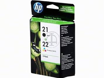 Cartouches pour hP deskjet f 2280 (2 x cartouches, cartouches couleur deskjet f2280 d'encre (noir)