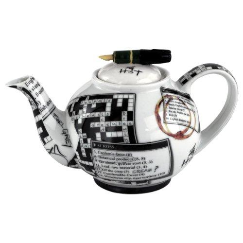 Crosswords 18 Zo Teapot By Cardew Design