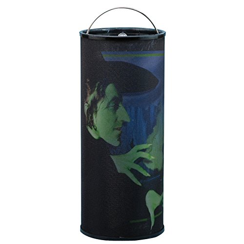 Westland Giftware Wicked Witch Battery Operated Cylindrical Nightlight with Hanging Chain and On/Off Switch