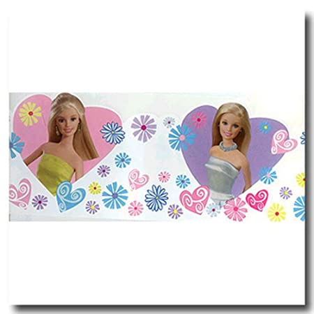 Barbie wall decals tktb for Barbie wall mural